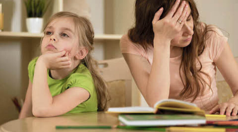 Homeschooling - bored kid and work at home mum