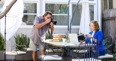 Tips for a Social Media Photo Shoot for work at home mum