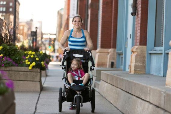 Jogging Stroller for Mums