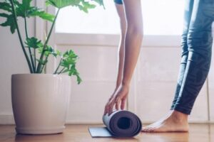 Work from home as an online yoga instructor