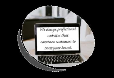 professionally designed website