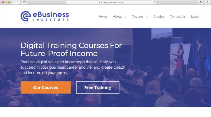 ebusiness institute review logo